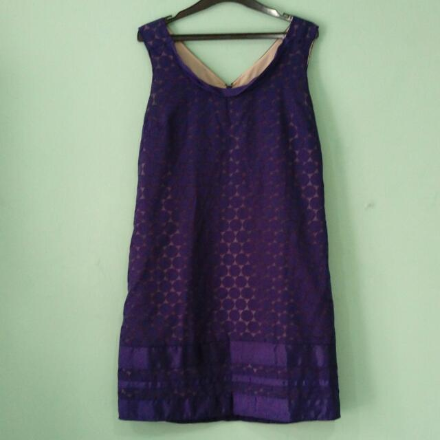 OASIS Blue Dress