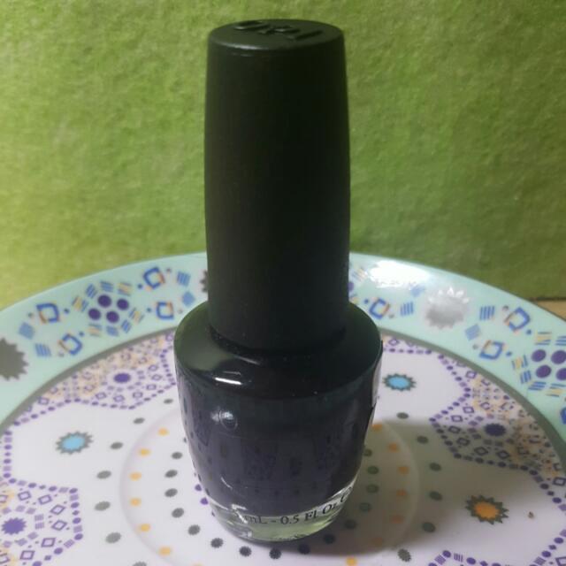 OPI Black Nail Polish (Lady In Black)