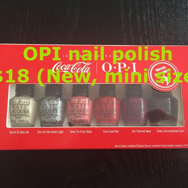 OPI Nail Polish Set - Mini Size