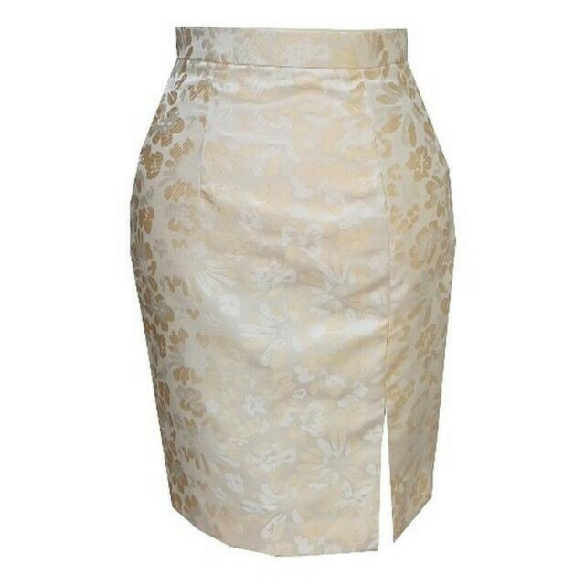 Pencil Skirt / Rok Pensil ( Jacquard )