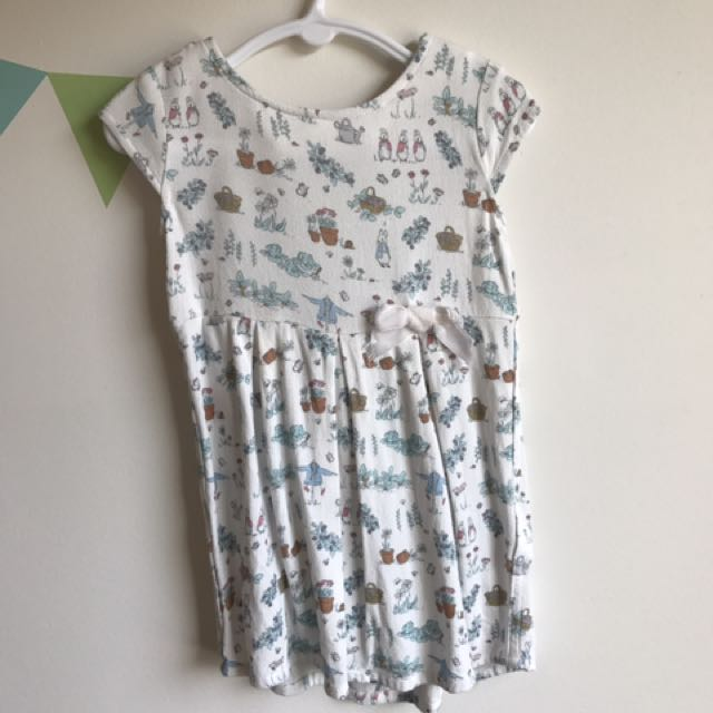 Peter Rabbit Baby Girl Dress - Size 2