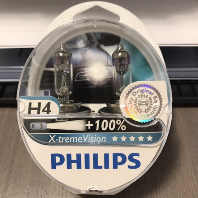 Philips X-treme Vision +100% - H4