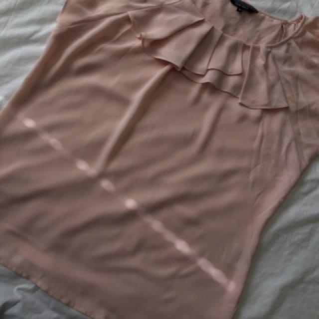 Pink Flare Shirt