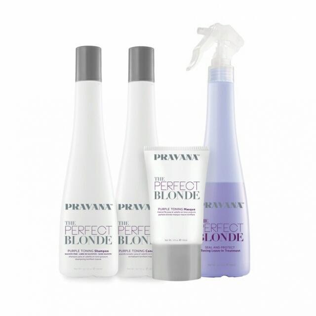 Pravana The Perfect Blonde Purple Shampoo In Stock Purple