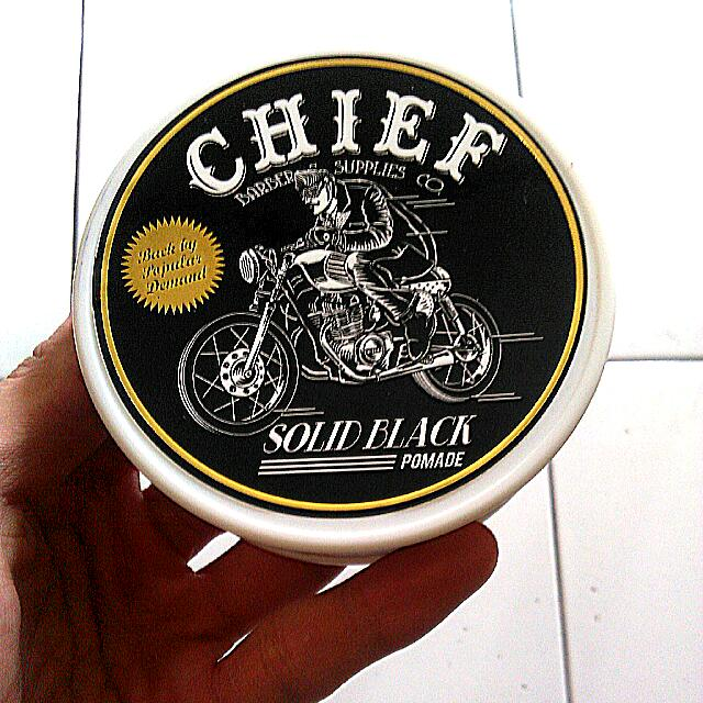 "Pomade Chief ""SOLID BLACK"""