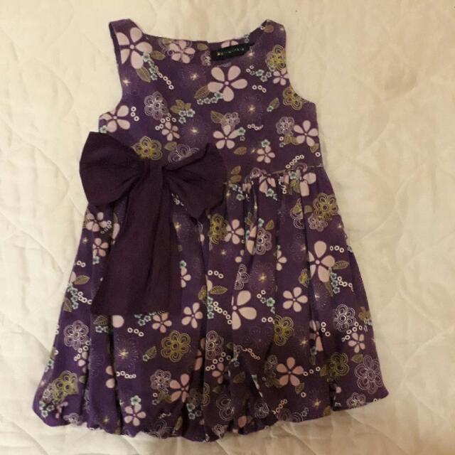 Pretty Purple Dress 2yo