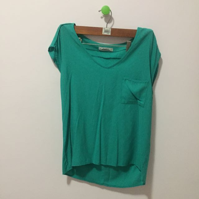 Pull&Bear green Tops