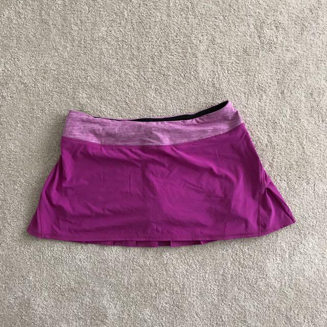 Purple Lululemon Skirt - Size 10