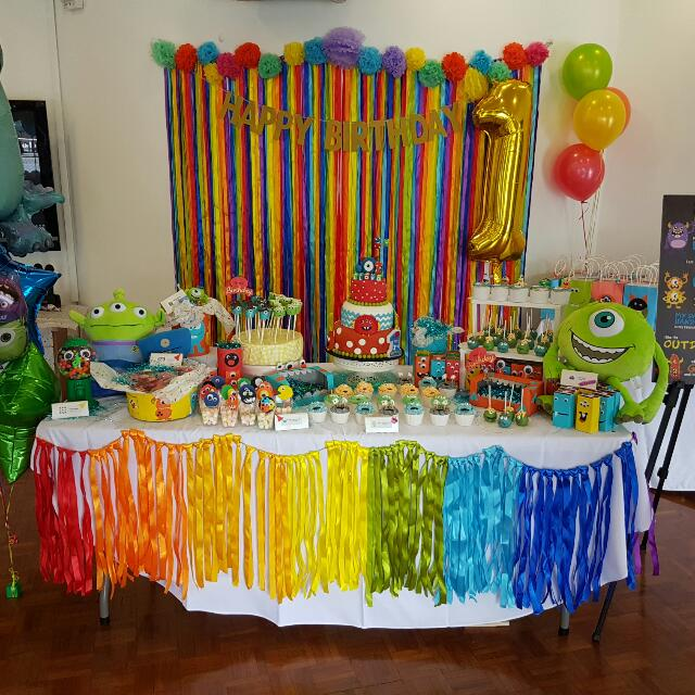 Rainbow Table Streamers