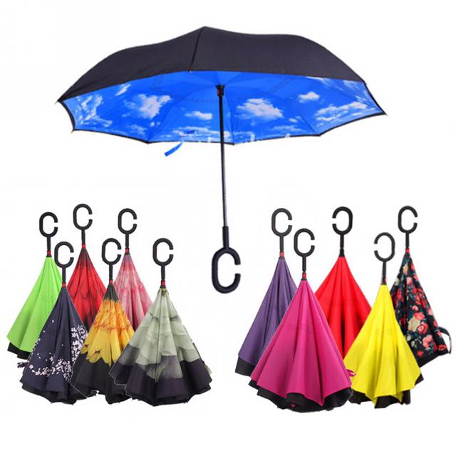 REVERSIBLE INVERTED UMBRELLA -  FREE SHIPPING!!