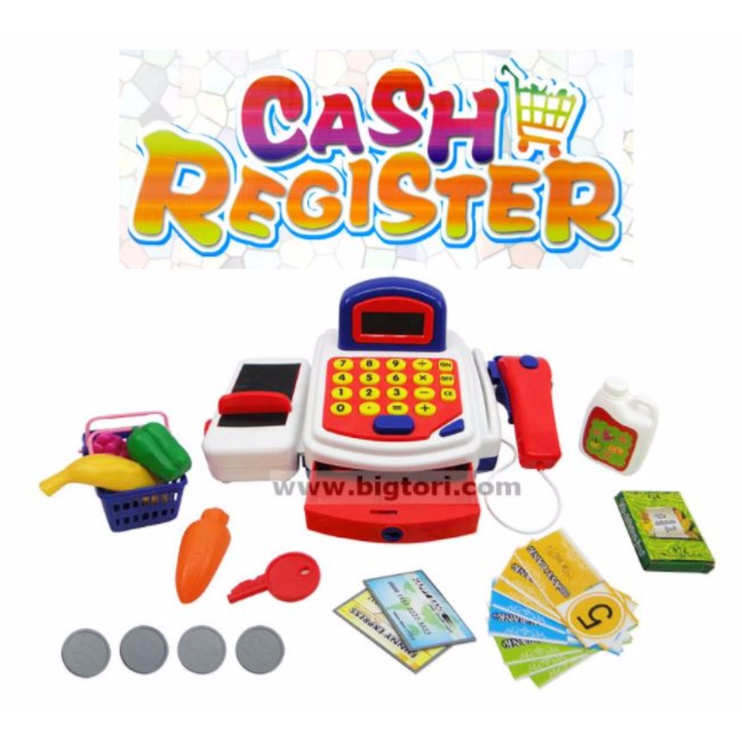 Role Playing Pretend Play Toy Cash Register Machine Toys