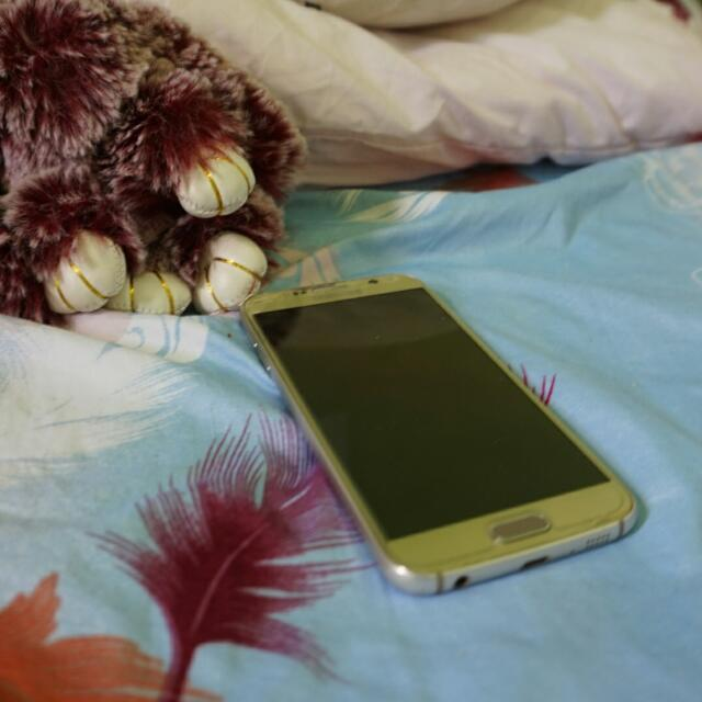 SAMSUNG S6 FLAT GOLD EDITION