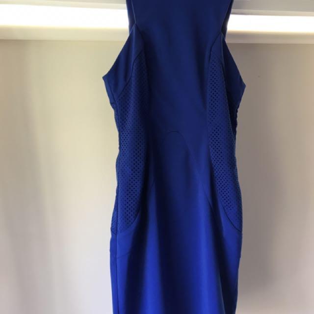 Sheike Blue  Dress