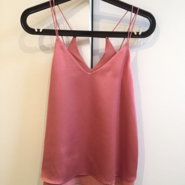Silky Pink Cami