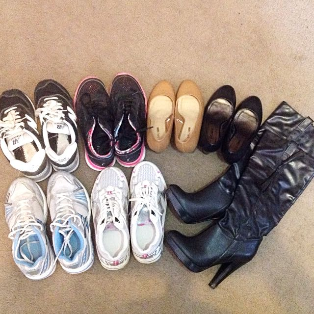 Size 6 / 37 New Balance Runners, Wedges, Boots