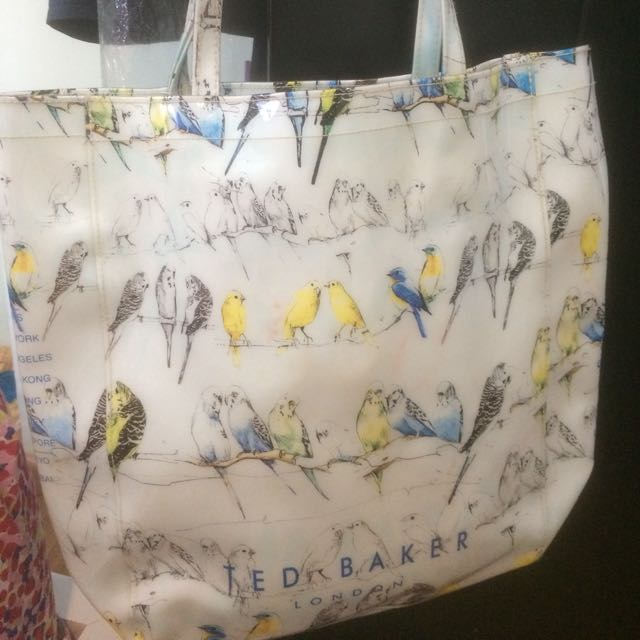 Ted Baker Blue Jelly Tote Bag