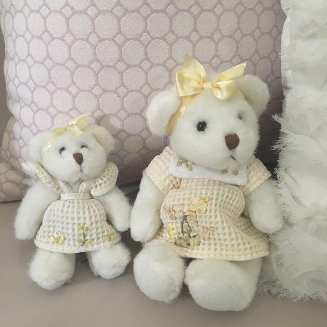 Teddy Bear Duo Stuffed Animal