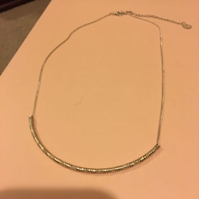Thin Silver Necklace