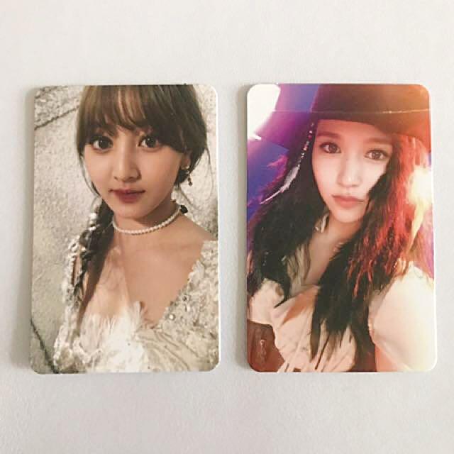 TWICE Official Twicecoaster Lane 1 Jihyo & Mina Photocards