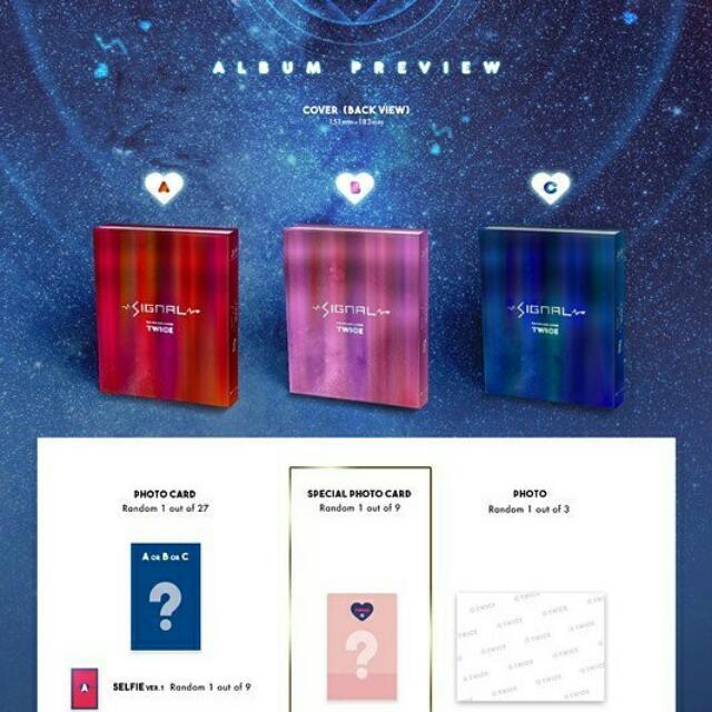 Twice Signal 4th Mini Album