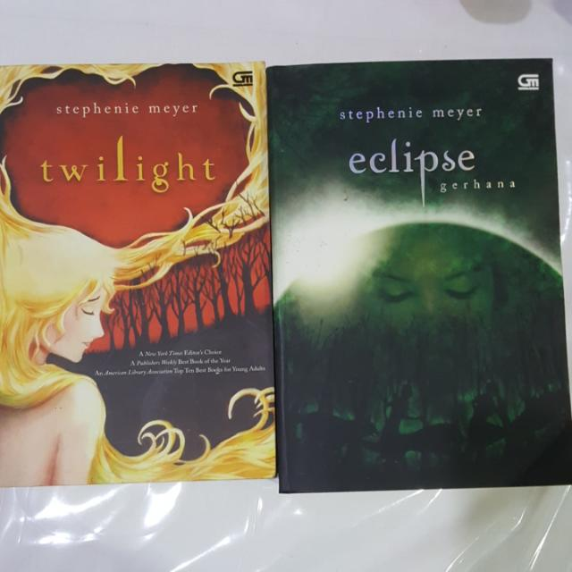 Twilight & Eclipse NOVEL