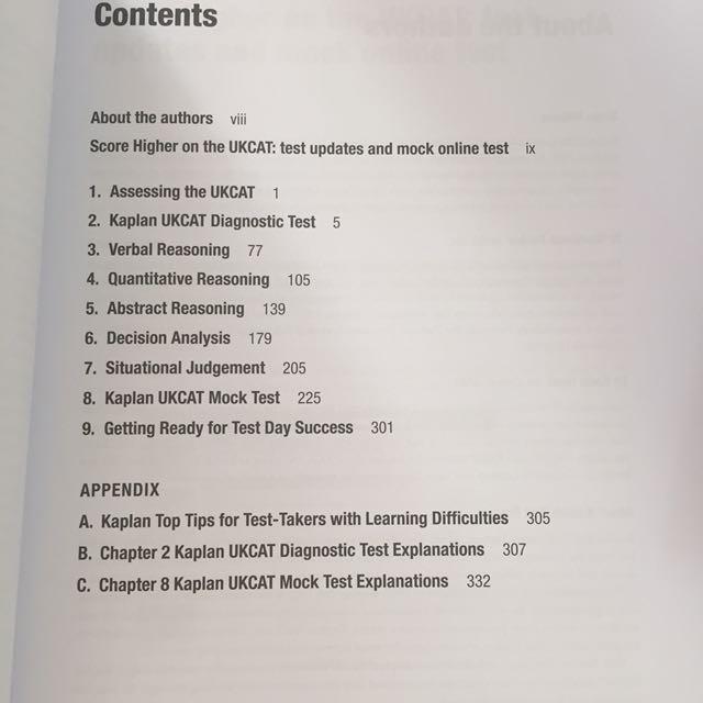 Ukcat 1000 Questions Expert Guide Kaplan