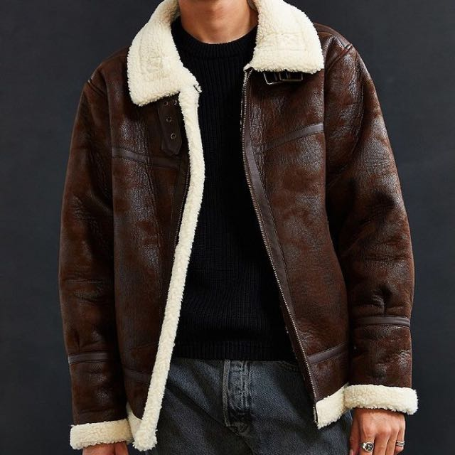 Urban Outfitters Faux Bomber