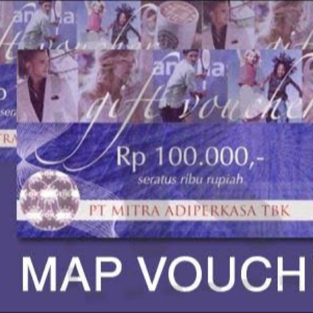 Voucher MAP 400.000