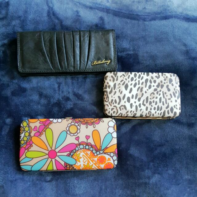 Wallets/Clutches Billabong Leopard Print