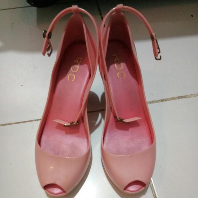 Wedges Pink 12cm