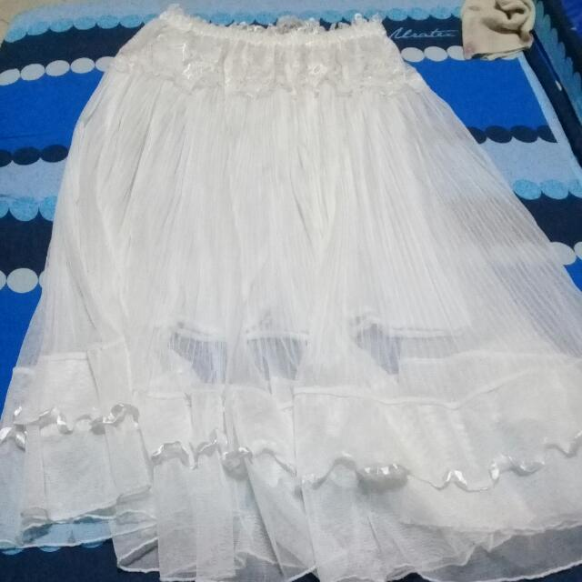White Beach Skirt