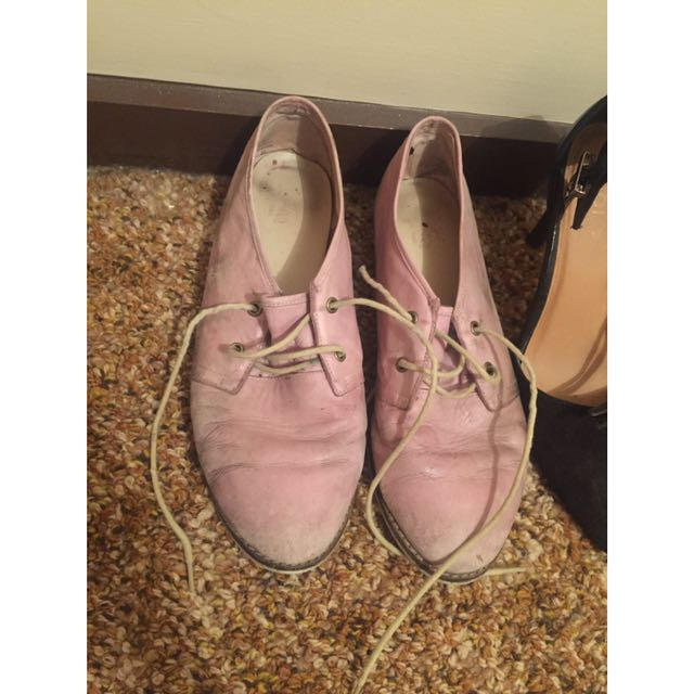 Wittner Lavender Lace Up Shoes