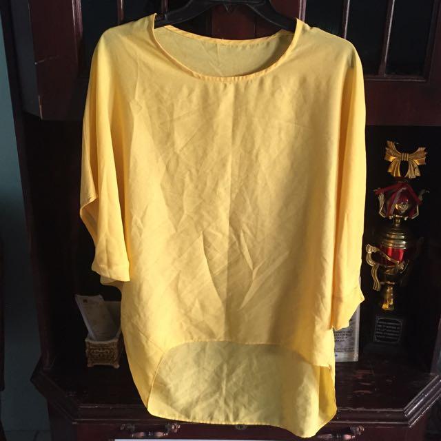 Yellow Penguin Top
