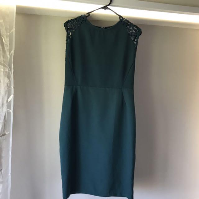 Zalor Forest Green Dress