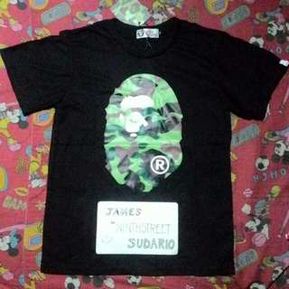 BAPE Big Head Logo Front & Back OFF