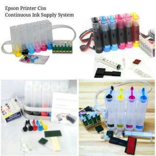 Printer CISS for Canon Hp Epson Brother