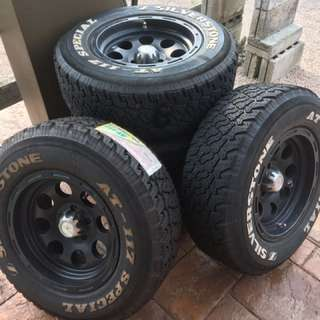 Silverstone AT117 Special Tires