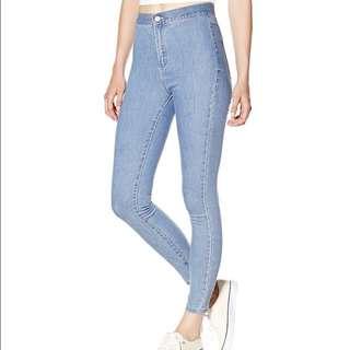 Garage High Waisted denim jeans / Jeggings