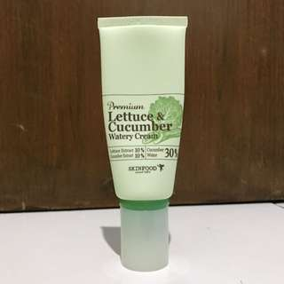 Premium Letuce & Cucumber Watery Cream - SKINFOOD