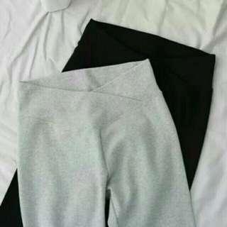 灰色孕婦內搭褲/超舒服/超好穿/超彈力