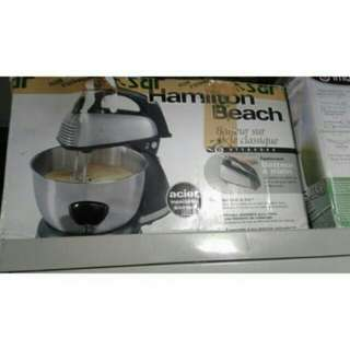 hand and stand mixer