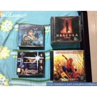Original VCDs for sale