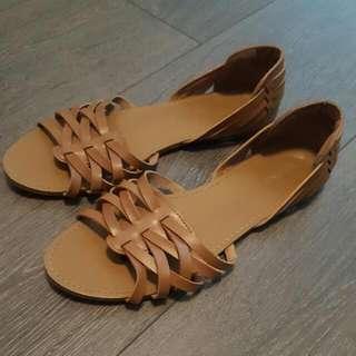 Flat sandal size 7.5