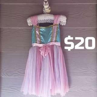 Beautiful Pink And Blue Dress