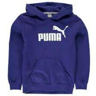 Blue Puma Hoodie