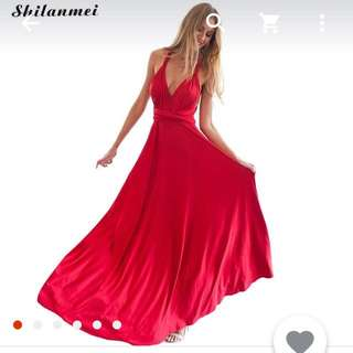 Red Dress Size (M)