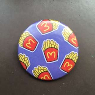 McDonald's Fries Badge