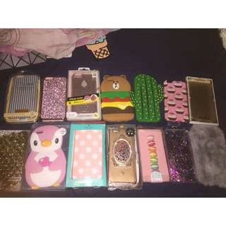 ✨ BRAND NEW ASSORTED IPHONE 6+ CASES!!! ✨