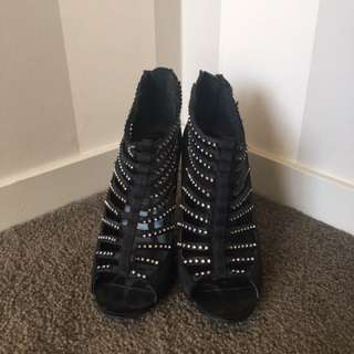 Diamond Studded Heels