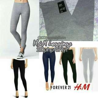Authentic Overruns! H&M Cotton Leggings